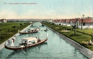 A postcard of the new canal system